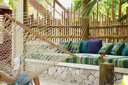 hammock at goldeneye hotel jamaica caribbean