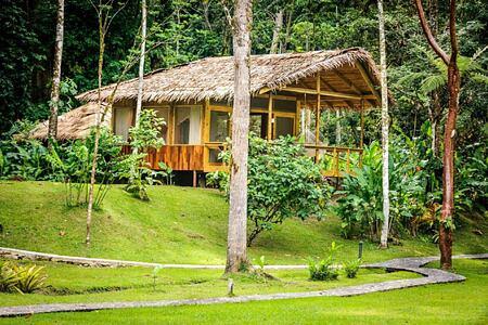 Garden suites exterior Pacuare Lodge Costa Rica
