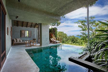 Garden Pool Suite View at kamalaya resort koh samui thailand