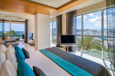 Gran Corner Suite at aguas de ibiza hotel