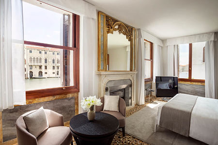 Grand Canal Suite at aman hotel venice