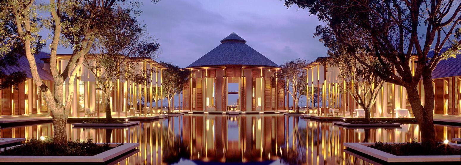 Grand Reflecting Pond at amanyara hotel Turks & Caicos