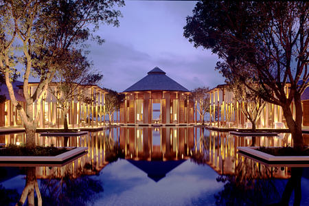 Grand Reflecting Pond at amanyara hotel Turks & Caicos