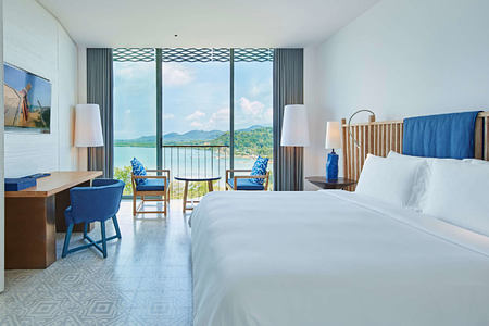 bay room at point yamu by como hotel thailand