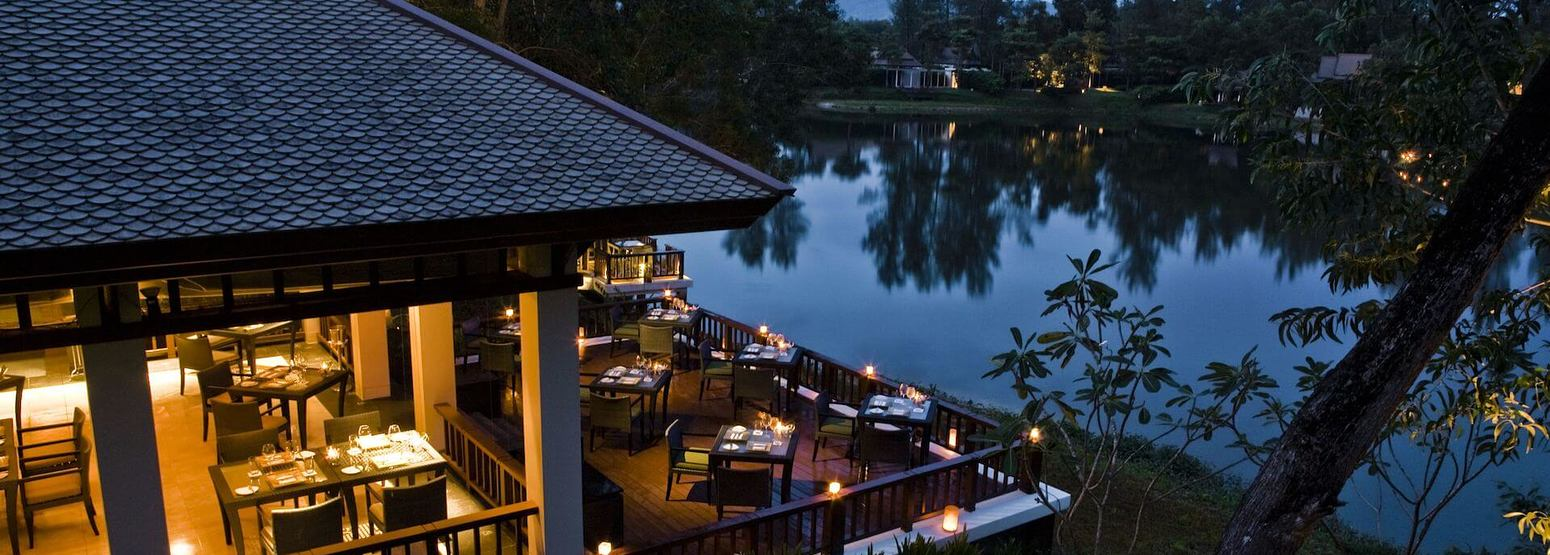 night at banyan tree hotel phuket