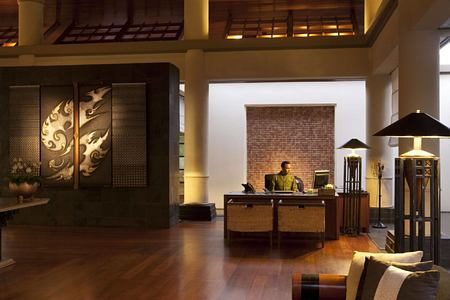 lobby at banyan tree hotel phuket