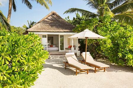 beach villa at lux maldives resort