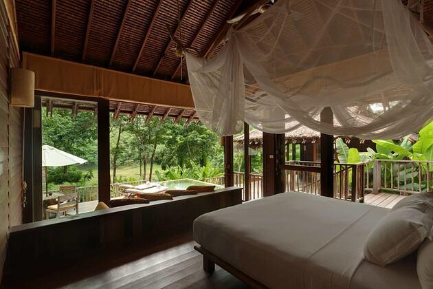 hideaway 2 bedroom pool villa suite at six senses yao noi resort phuket thailand