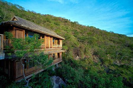 hilltop reserve exterior at six senses ninh van bay