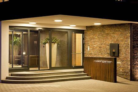 entrance at hotel rosengarten austria