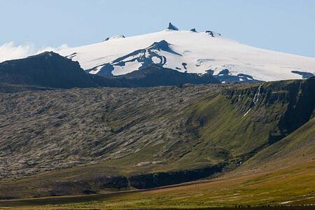 mountain at Hotel Budir