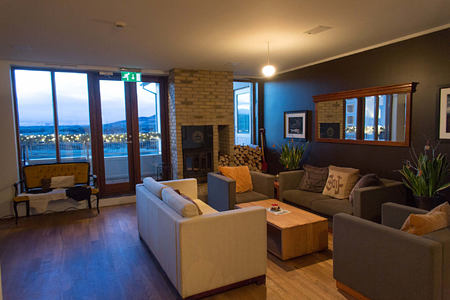 living area at Hotel Budir