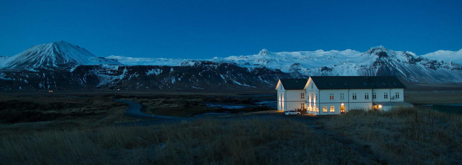 mountain landscape at Hotel Budir