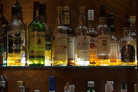 bar at Hotel Budir