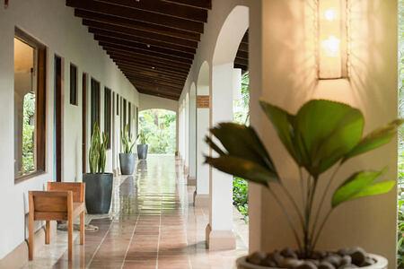 patio at harmony hotel costa rica