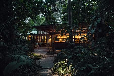 night exterior at harmony hotel costa rica