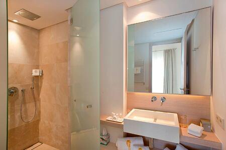 bathroom at font santa hotel mallorca spain