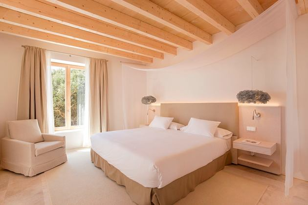 bedroom at font santa hotel mallorca spain