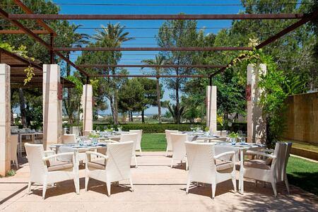 dining at font santa hotel mallorca spain