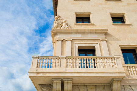 presidential suite balcony at hospes maricel and spa mallorca