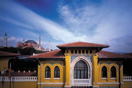 exterior at four seasons sultanahmet hotel turkey