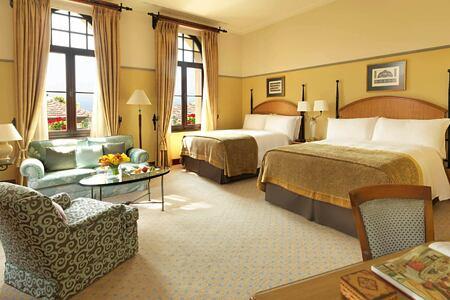 bedroom at four seasons sultanahmet hotel turkey