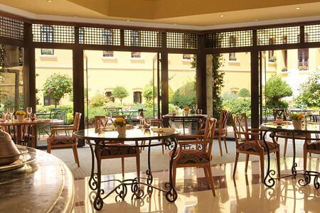 restaurant at four seasons sultanahmet hotel turkey