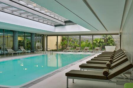 Indoor Heated-Pool at Epic Sana Portugal