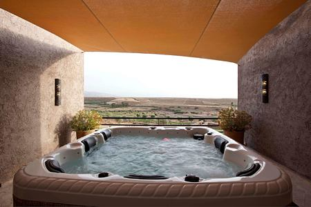 Jaccuzzi at Le Palais Paysan hotel morocco