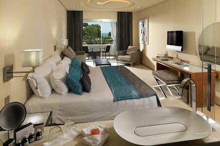 Junior Suite Pool View at aguas de ibiza hotel
