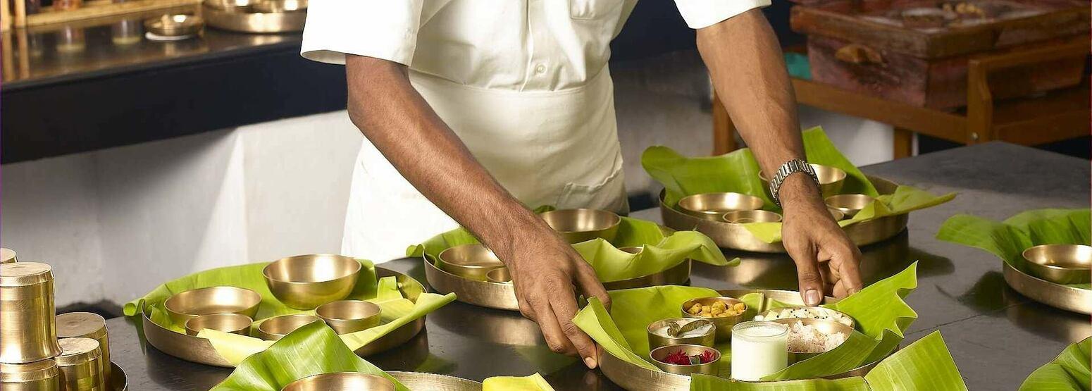chef at Kalari Kovilakom