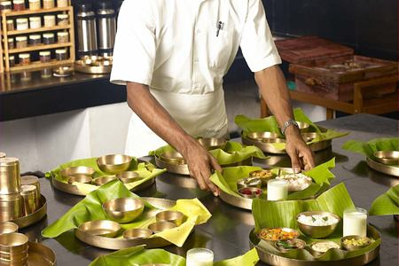 chef at Kalari Kovilakom