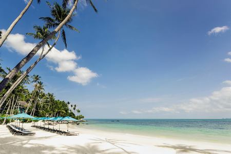 beach at four seasons samui thailand