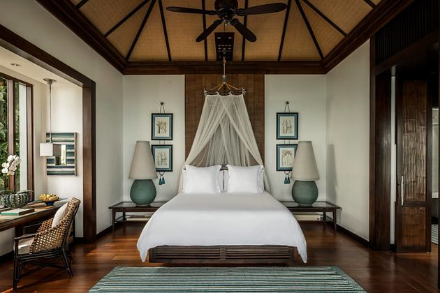 bedroom at four seasons samui thailand
