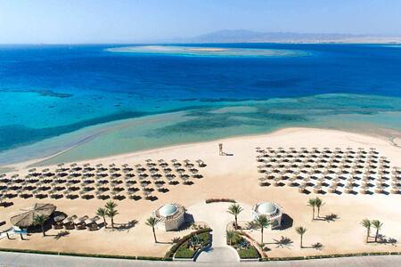 beach at kempinski soma bay resort egypt