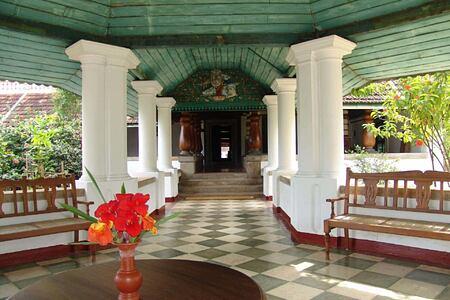 hallway at Kalari Kovilakom