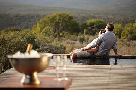 Kwandwe Ecca Lodge suite deck south africa