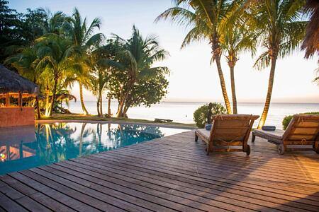 Grenada sunset lounge at laluna hotel caribbean