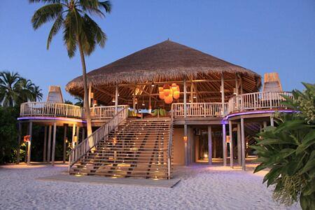 leaf hut at six senses laamu hotel maldives