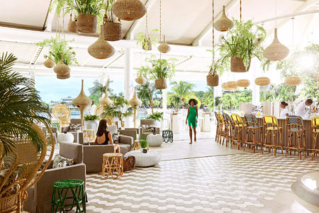 palm court at lux grand gaube resort mauritius
