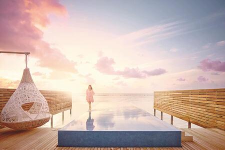 temptation villa at lux maldives resort
