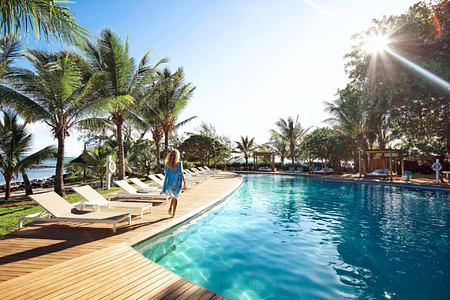 banyan tree pool at lux grand gaube resort mauritius