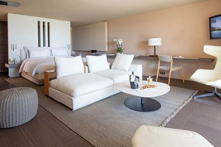 junior suite at La Reserve Ramatuelle
