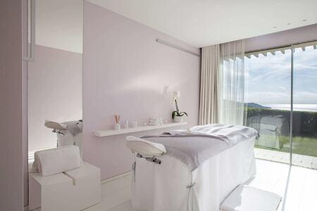 spa treatment room at La Reserve Ramatuelle
