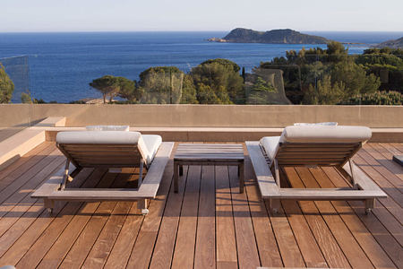 suite taillat terrace at La Reserve Ramatuelle