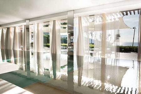 spa pool at La Reserve Ramatuelle