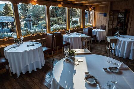 La Siriola restaurant at ciasa salares hotel italy