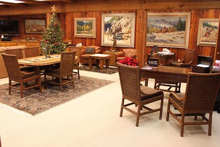Lodge - Activity Center at triple creek ranch usa