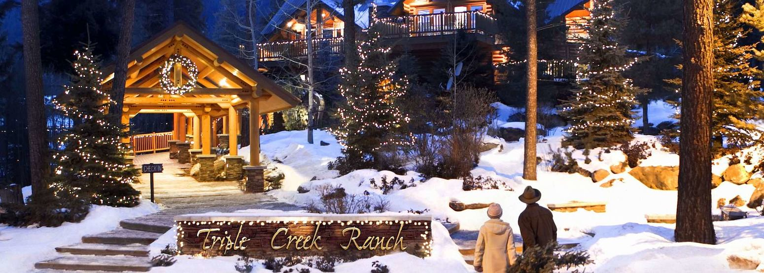 Christmas at triple creek ranch usa