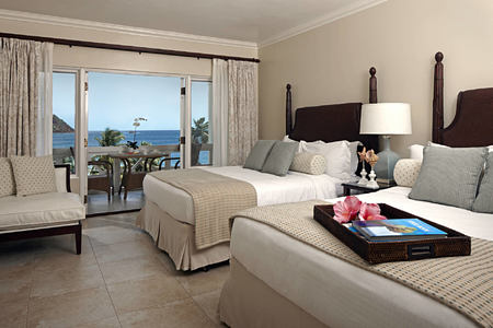 Luxury Ocean View room at the body holiday resort st lucia